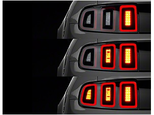 american car LED tail lights