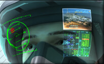 head up displays with augmented reality