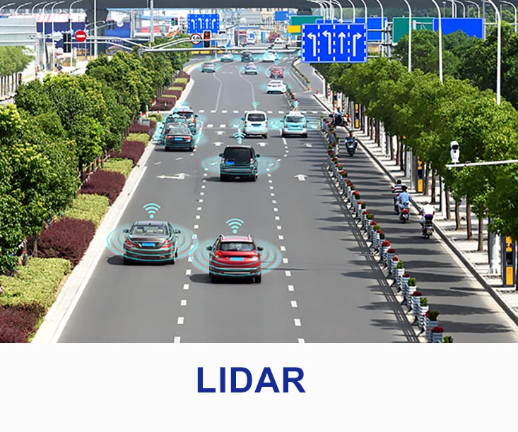 optics and diffusers for LIDAR