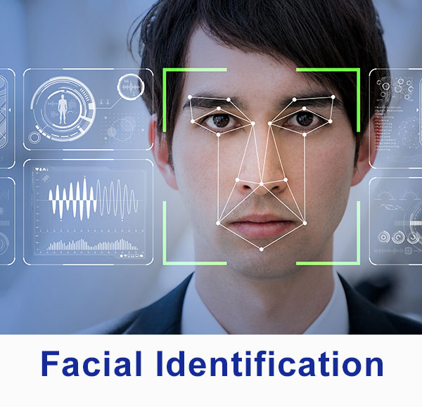 optics for facial recognition and scanning