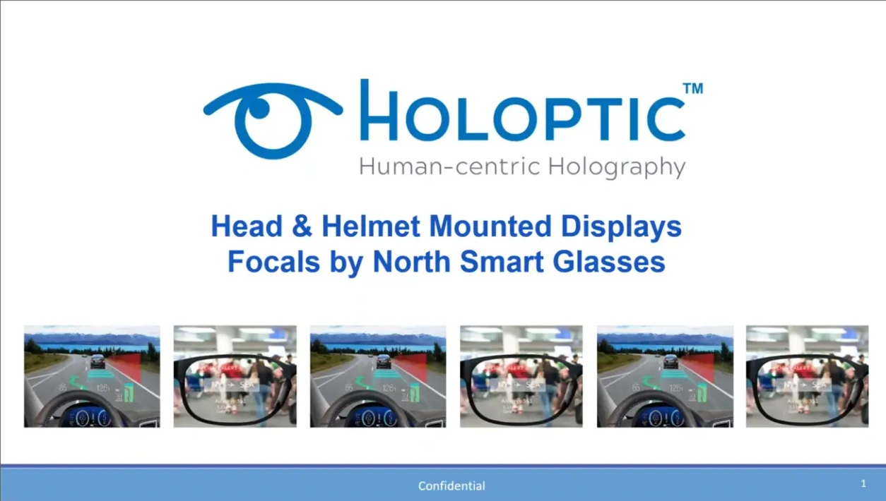 presentation on holography for augmented reality