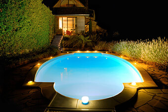 pool light shaping diffuser