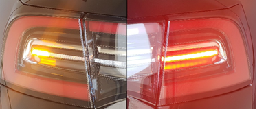 taillights that are reflective