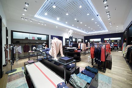 diffused lighting for retail stores