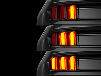 LED uniform car tailights